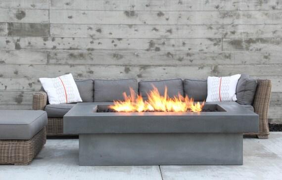 Olson Fire Table Concrete Firepit