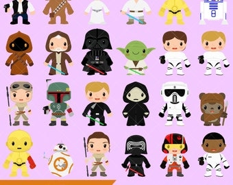 Star Kids Clipart / Star Wars