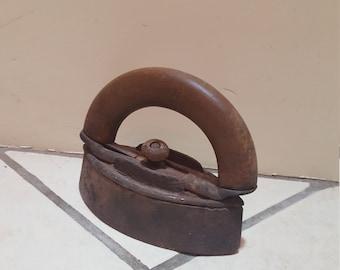 antique small clothes iron