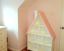 Kid's Bookcase -- Designed to resemble a Dollhouse!