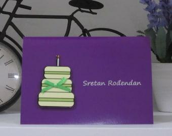 Bosnian/Croatian Birthday Card