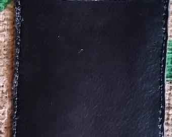 This all leather 2 Masonic Jewel card, Mason Jewel, Leather