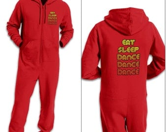 Eat Sleep Dance adult onesie