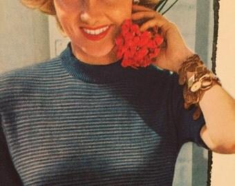 1950's Vintage Fashion Photo/ Illustration