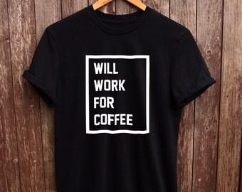 Funny coffee shirt Black Text - funny t-shirts, coffee lovers, christmas gifts, starbucks shirt, quote t shirts, food tshirts, graphic tees
