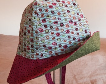 Baby Child's Reversible Sun Hat