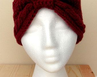 Women's Knit Head Wrap and Ear Warmer