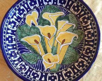 Talavera La Corona Serving Bowl/Wall Art