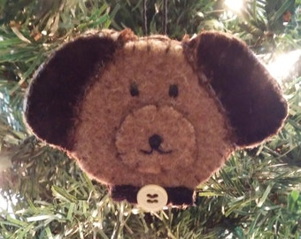 Christmas ornament Puppy