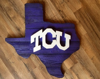TCU Rustic wall/door board