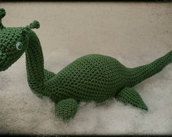 Crochet Loch Ness Monster