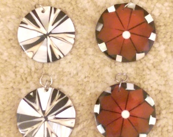 Red White Black Charms