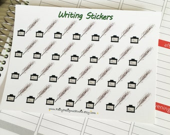 Writing Planner Stickers