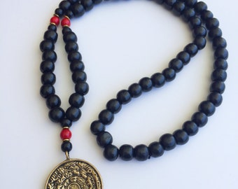 Tibetan style beaded necklace