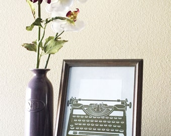 Vintage Typewriter CUSTOM MESSAGE