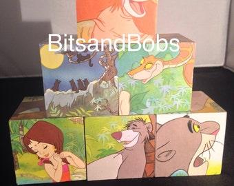 The jungle book nursery blocks