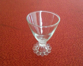 Anchor Hocking Berwick Boopie Glass Goblets Vintage Crystal Glassware