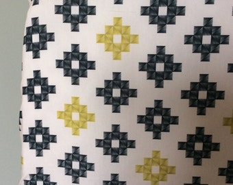 CRIB SHEET pink, gold, grey fitted crib sheet, modern nursery, baby bedding, baby gift
