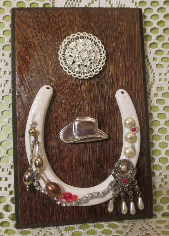 Horseshoe Wall Decorhang It For Good Luck By Riverripples