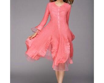 Fashion Womans Dress Multi-Colors