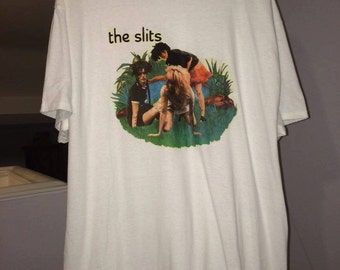the slits tshirt XL