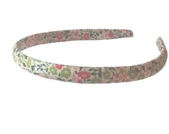 Headband pink end liberty Fairford