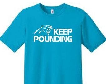 KEEP POUNDING Short Sleeve - T-Shirt