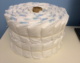 Build Your Own Diaper Cake, 2 or 3 Tier pinwheel diapers