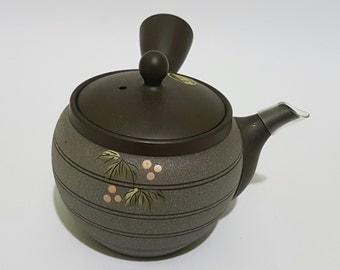Japanese Tokoname Kyusu Teapot