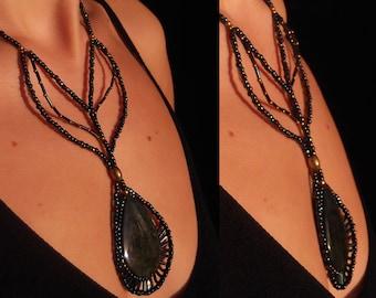 "Obsidian ""Manto Huichol"""