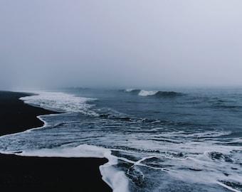 Ocean Print - Ocean Photography - Waves Photo - Ocean Digital Photo - Coastline Print - Sea Print - Digital Download - Coastal Wall Decor