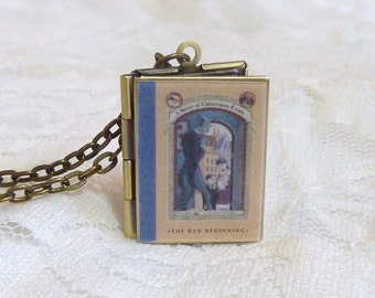 A Series of Unfortunate Events Story Locket