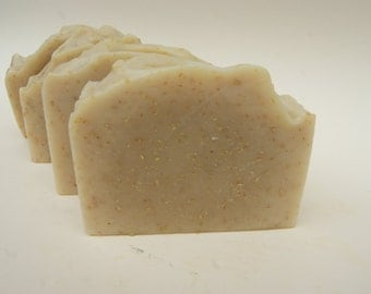 Goat Milk Soap with Oatmeal, handmade soap, australian soap, cocoa butter soap