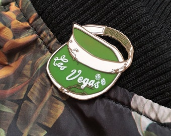 LOW STOCK - Las Vegas Fear & Loathing Hat Pin High Roller - Hunter S. Thompson/Johnny Depp Lapel Pin