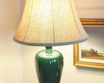 Green Urn Lamp