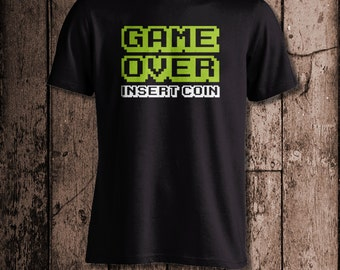 GAME OVER Insert Coin | Men's tee | Perfect for a gamer