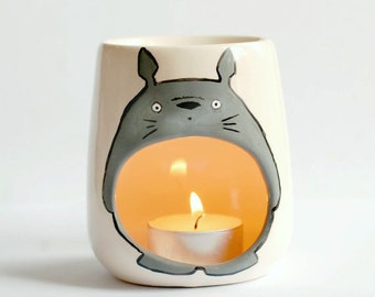 My Neighbor Totoro - Studio Ghibli Oil Burner - Candle Holder  - My Neighbour Totoro Gift - Chibi - Anime - Tonari No Totoro - Geek - Comic
