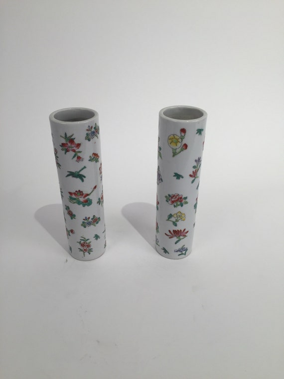 Pair of antique ceramic vase