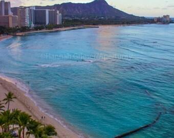 Waikiki Beach at Sunrise: Fine Art Photography