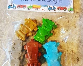 Robot Crayon Bag