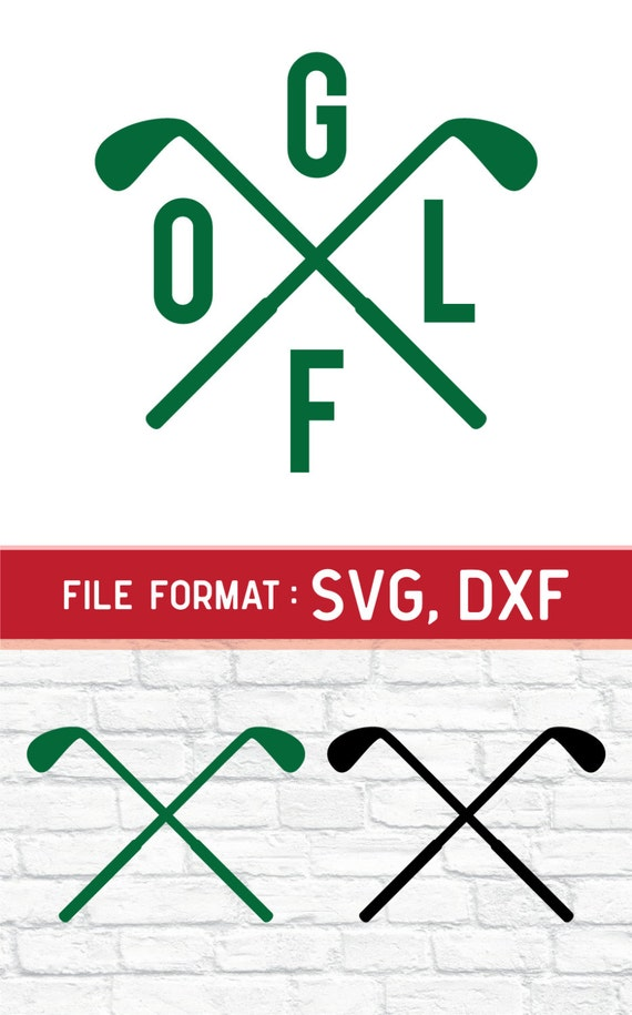 Download SVG Golf Monogram Cricut Files Vinyl Cutters SVG by DreamShape