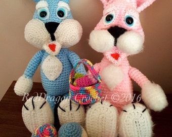 Amigurumi Easter Bunny - Crochet Pattern
