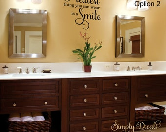 Bathroom Decal Etsy - Wall decals bathroom
