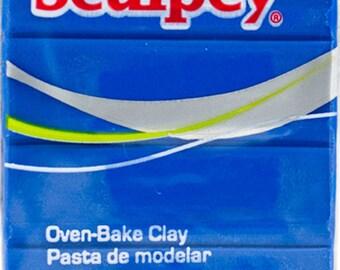 Sculpey® III Blue Oven-Bake Clay - 2oz Polymer Oven-Bake Clay - Blue 2oz Polymer Clay - Sculpting Clay - Oven-Bake Clay - 15-011