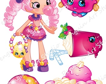 Shrinky Dinks / Shopkins / Instant Digital Download