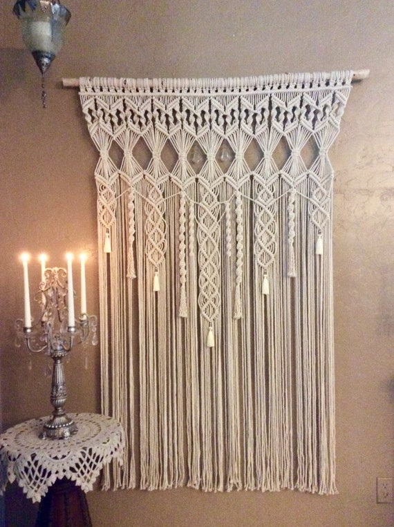 macrame large large macrame wall hanging tapestry wedding backdrop 7895