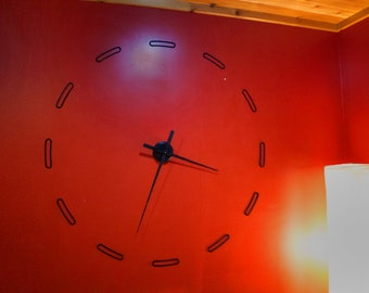Segmented 3D Printed Wall Clock