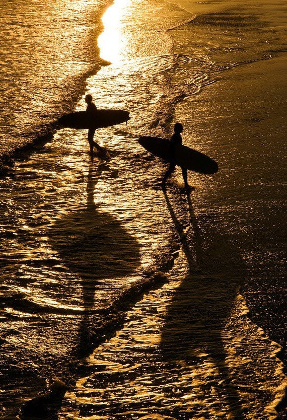 Reflected Surfers,surfing prints,beach photographs,limited edition prints,watersoorts