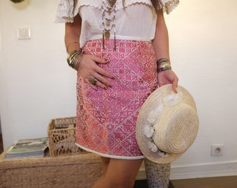 Valley of roses skirt