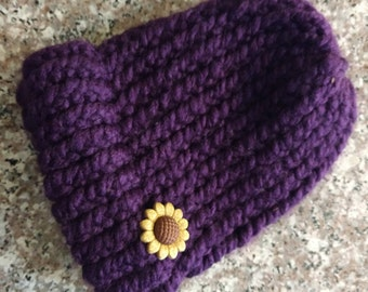 Knitted Infant Beanie